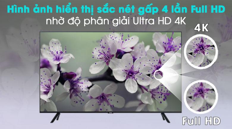 Smart Tivi Samsung 4K 55 inch UA55TU8000 - Ultra HD 4K