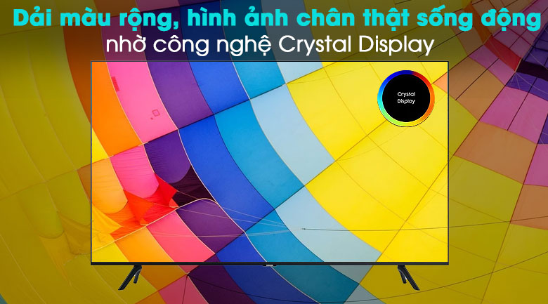 Smart Tivi Samsung 4K 55 inch UA55TU8000 - Crystal Display