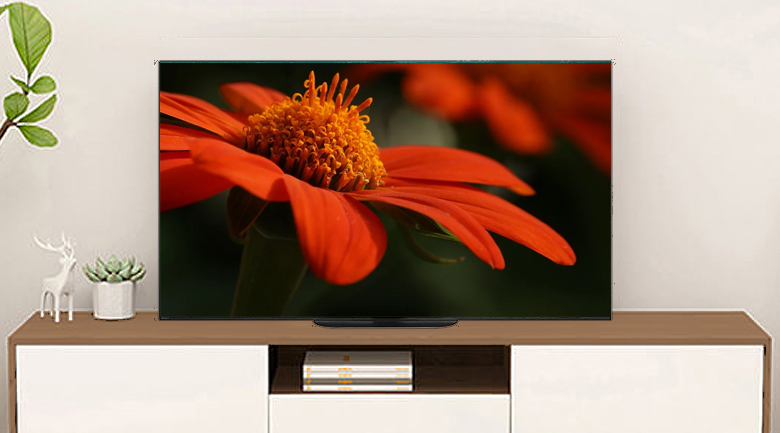 Android Tivi OLED Sony 4K 77 inch KD-77A9G - Thiết kế thanh mảnh