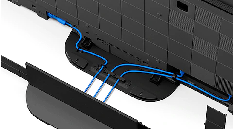 Android Tivi OLED Sony 4K 77 inch KD-77A9G - Giải pháp giấu dây tiện lợi, thẩm mĩ