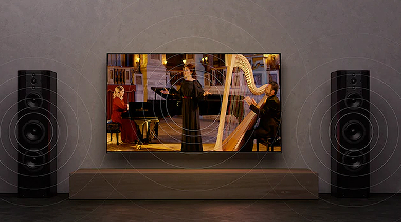 Android Tivi OLED Sony 4K 77 inch KD-77A9G - Acoustic Surface Audio+