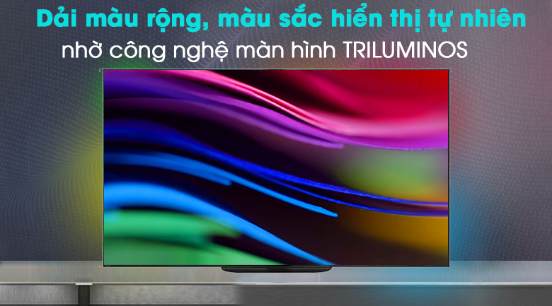 Android Tivi OLED Sony 4K 77 inch KD-77A9G - Màn hình chấm lượng tử TRILUMINOS Display