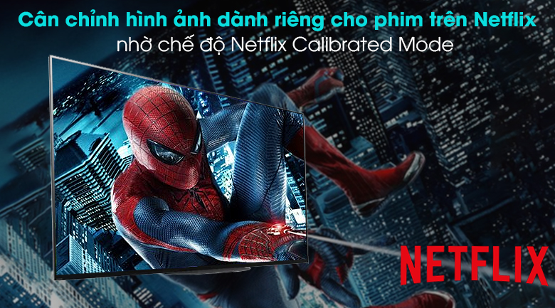 Android Tivi OLED Sony 4K 77 inch KD-77A9G - Netflix Calibrated Mode