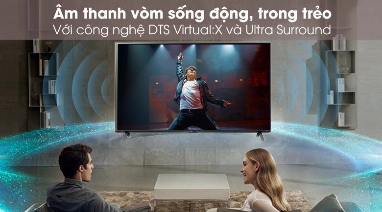 Giả lập âm thanh vòm - Smart Tivi NanoCell LG 4K 43 inch 43NANO79TND