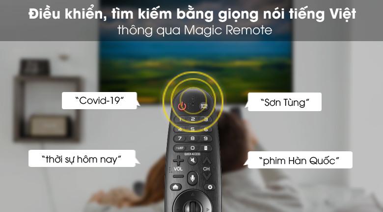 Magic Remote - Smart Tivi NanoCell LG 4K 43 inch 43NANO79TND