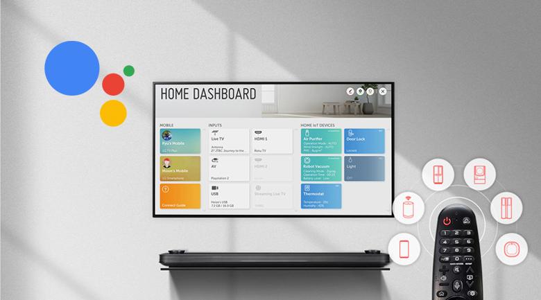 AI ThinQ và Google Assistant - Smart Tivi NanoCell LG 4K 43 inch 43NANO79TND