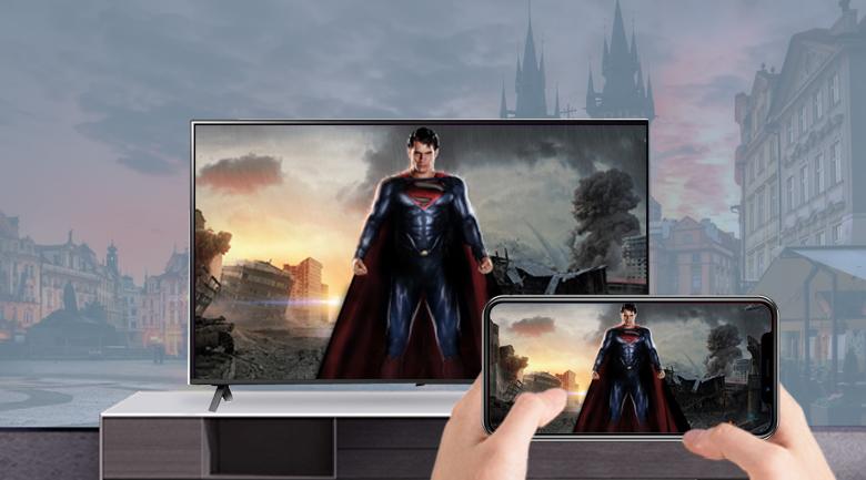 Trình chiếu - Smart Tivi NanoCell LG 4K 43 inch 43NANO79TND