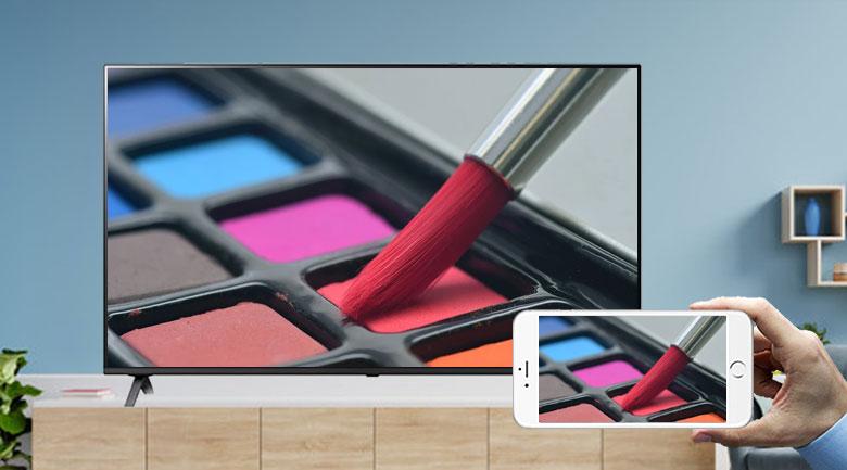 Smart Tivi NanoCell LG 4K 50 inch 50NANO79TND - Chiếu màn hình điện thoại lên tivi dễ dàng với AirPlay 2 và Screen Mirroring