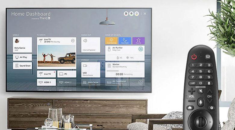 Smart Tivi NanoCell LG 4K 55 inch 55NANO79TND - Magic Remote và AI ThinQ