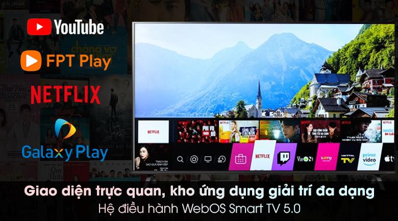 Smart Tivi NanoCell LG 4K 65 inch 65NANO79TND - WebOS 5.0