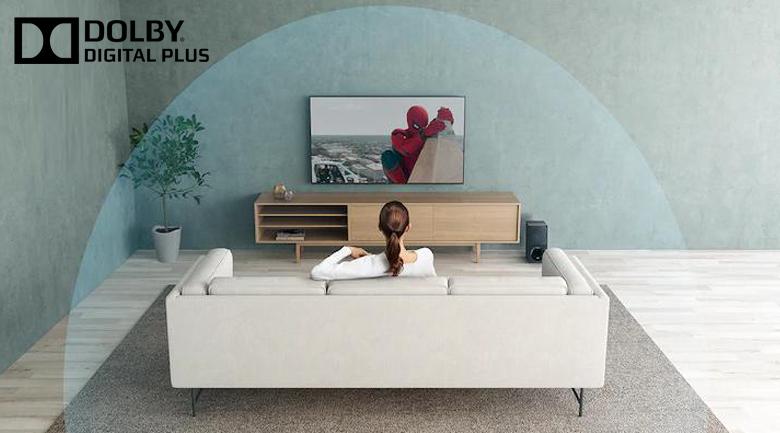 Dolby Digital Plus - Smart Tivi Samsung 4K 65 inch UA65TU8000