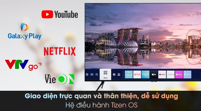 Smart Tivi Samsung 4K 50 inch UA50TU8000 - Tizen OS