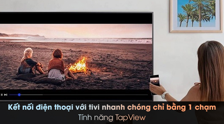 Smart Tivi Samsung 4K 50 inch UA50TU8000 - Tap View