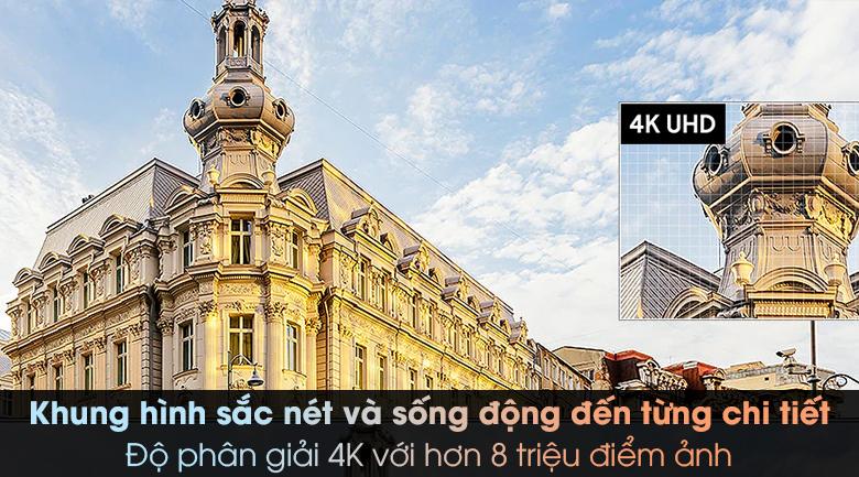 Smart Tivi Samsung 4K 50 inch UA50TU8000 - Độ phân giải 4K