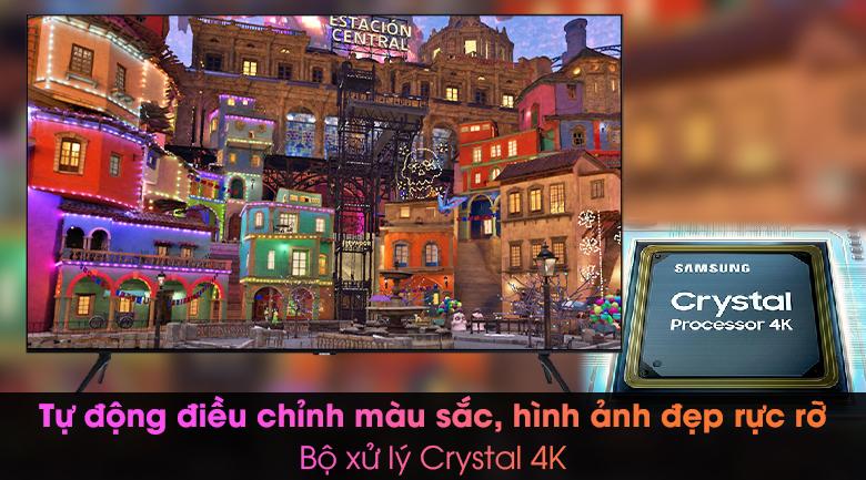 Smart Tivi Samsung 4K 43 inch UA43TU8000 - Bộ Xử lý Crystal 4K