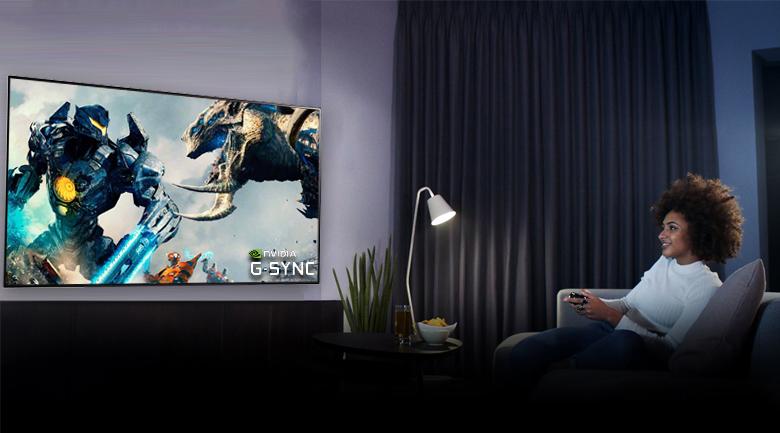 Smart Tivi OLED LG 4K 48 inch 48CXPTA - Tương thích NVIDIA G-Sync cho trải nghiệm chơi game mượt mà