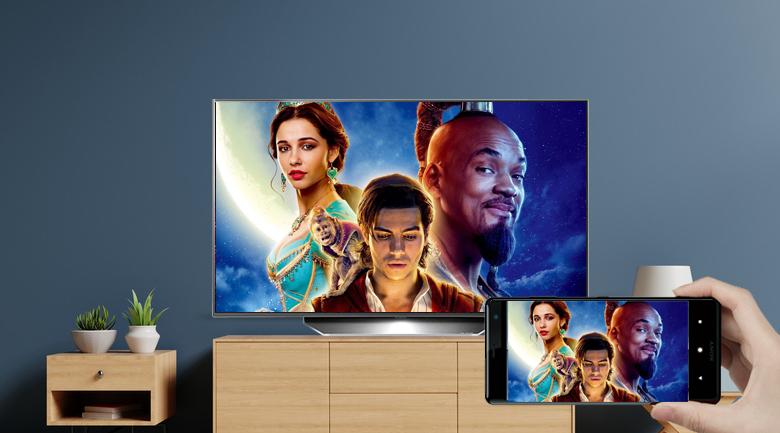 Smart Tivi OLED LG 4K 48 inch 48CXPTA - Chiếu màn hình điện thoại lên tivi