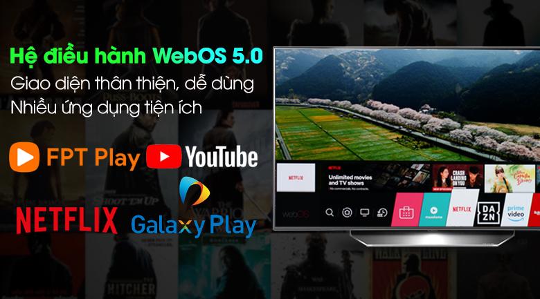 Smart Tivi OLED LG 4K 48 inch 48CXPTA - Hệ điều hành WebOS 5.0