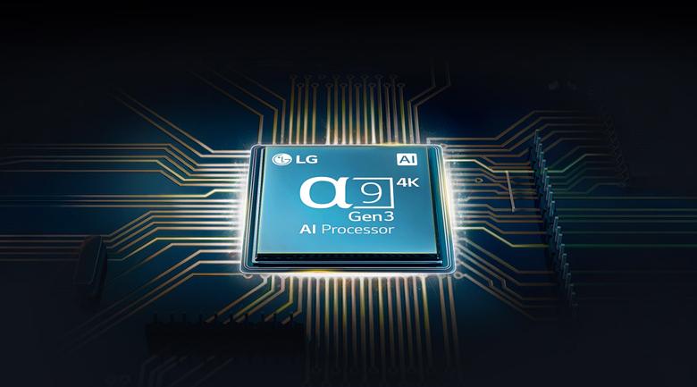 Smart Tivi OLED LG 4K 48 inch 48CXPTA - Chip xử lý thông minh AI 4K α9 thế hệ thứ 3