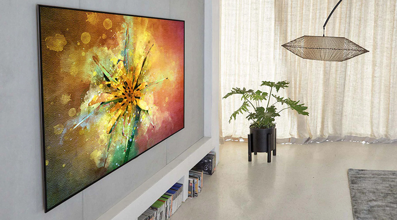 Smart Tivi OLED LG 8K 77 inch 77ZXPTA - Thiết kế tinh giản