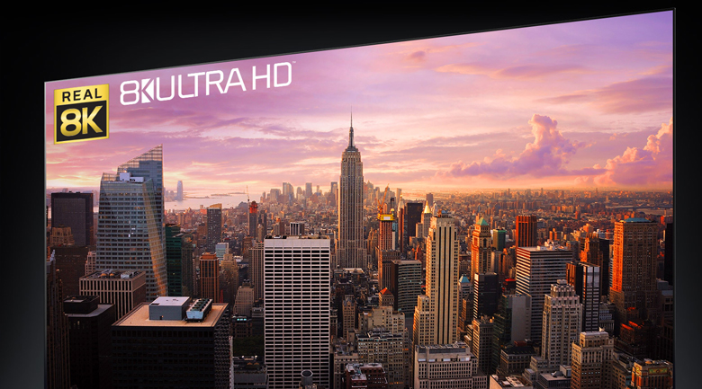 Smart Tivi OLED LG 8K 77 inch 77ZXPTA - Độ phân giải 8K sắc nét