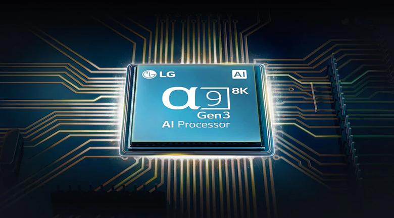Smart Tivi OLED LG 8K 77 inch 77ZXPTA - Thưởng thức nội dung hình ảnh gần chuẩn độ phân giải 8K vào với chip α9 AI 8K thế hệ thứ 3