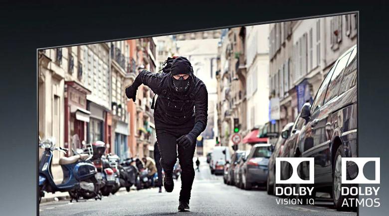 Smart Tivi OLED LG 8K 77 inch 77ZXPTA - Tái hiện chất âm và hình ảnh theo đúng chuẩn điện ảnh với công nghệ Dolby Vision IQ và Dolby Atmos