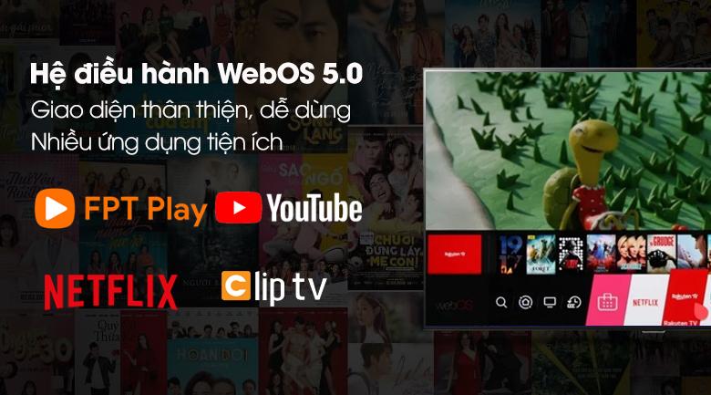 Smart Tivi OLED LG 8K 77 inch 77ZXPTA - Giao diện trực quan, ứng dụng phong phú trên hệ điều hành WebOS 5.0