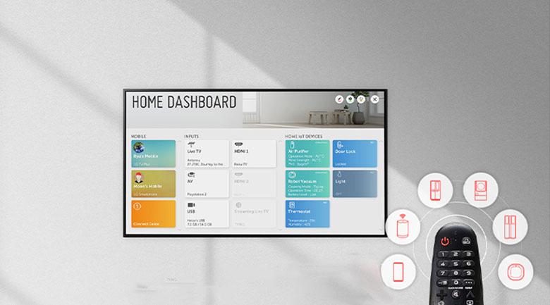Smart Tivi OLED LG 8K 77 inch 77ZXPTA - Điều khiển dễ dàng với trí tuệ nhân tạo AI ThinQ