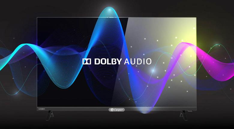 Smart Tivi Casper 32 inch 32HX6200 - Trải nghiệm âm thanh như trong rạp hát ngay tại ngôi nhà mình với công nghệ Dolby Audio