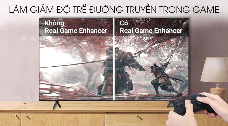 Smart Tivi Samsung 4K 70 inch UA70TU7000 - Chinh phục mọi đầu game cùng công nghệ Real Game Enhancer