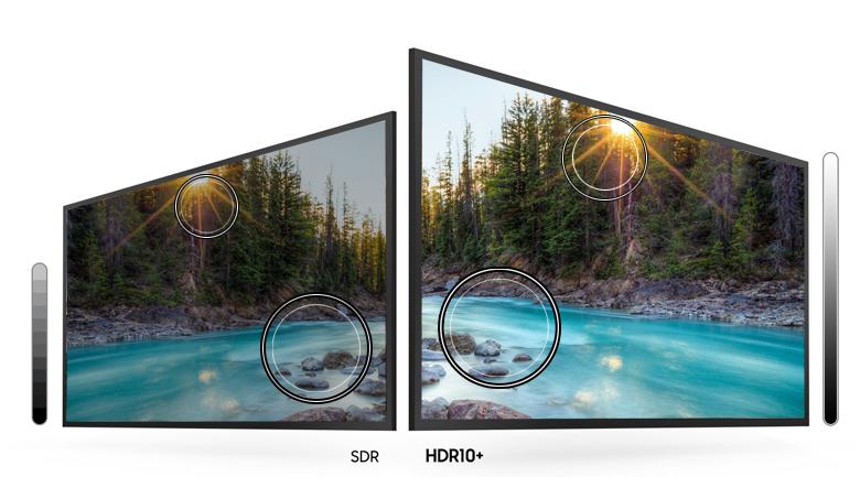 Smart Tivi Samsung 4K 70 inch UA70TU7000 - Tăng cường độ sáng, độ chi tiết cho chất lượng hình ảnh tốt nhất qua công nghệ HDR10+