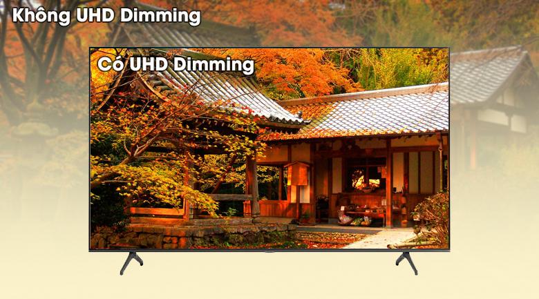 Smart Tivi Samsung 4K 70 inch UA70TU7000 - Vùng tối sâu hơn, vùng sáng tinh khiết hơn qua công nghệ UHD Dimming