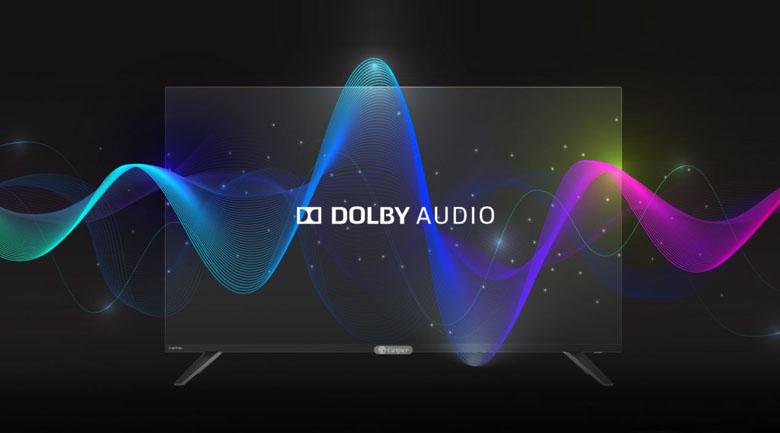 Giả lập âm thanh vòm bùng nổ với công nghệ Dolby Audio - Smart Tivi Casper 43 inch 43FX6200