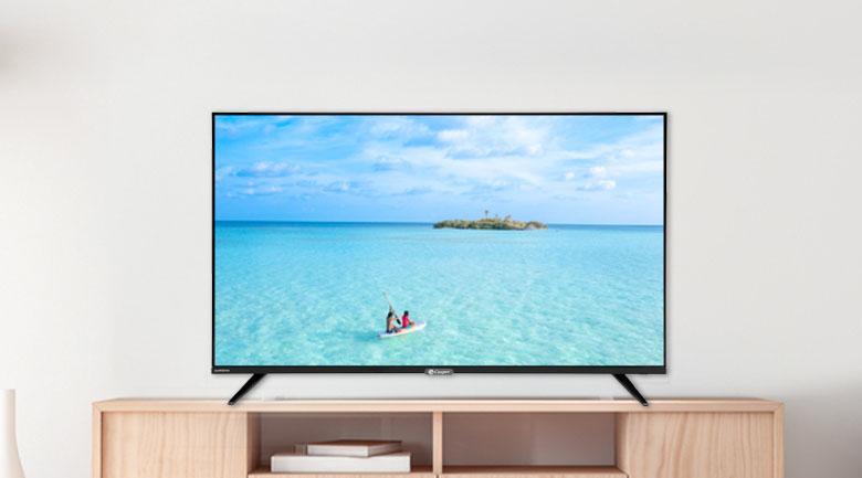 Thiết kế đơn giản, màn hình tràn viền sang trọng - Smart Tivi Casper 43 inch 43FX6200