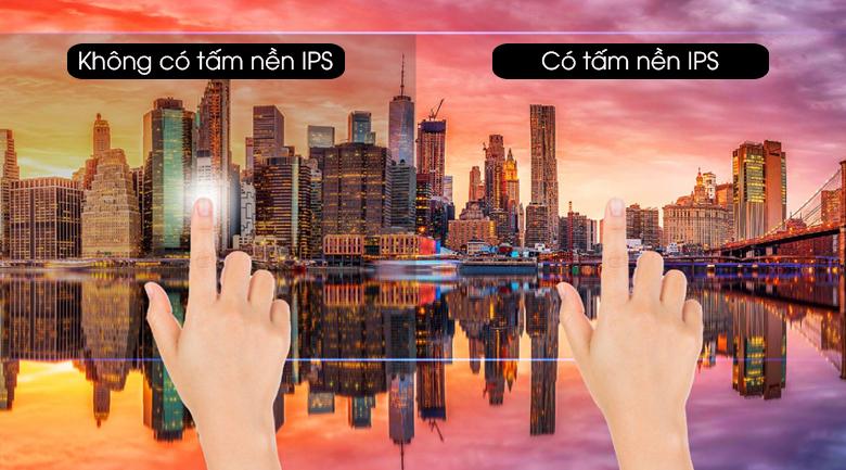 Màu sắc hình ảnh rõ nét, rực rỡ từ mọi góc nhìn nhờ tấm nền IPS - Smart Tivi Casper 43 inch 43FX6200