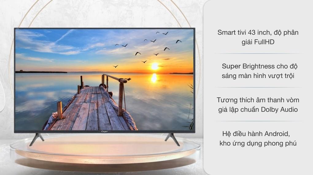 Smart Tivi Casper 43 inch 43FG5200