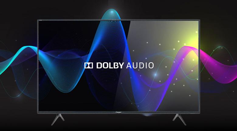 Smart Tivi Casper 43 inch 43FG5200 - Trải nghiệm âm thanh vòm sống động tự nhiên qua công nghệ Dolby Audio