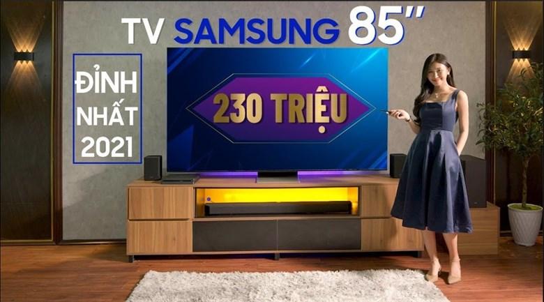 Smart Tivi Neo QLED 8K 85 inch Samsung QA85QN900A
