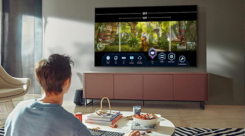 Smart Tivi Neo QLED 8K 75 inch Samsung QA75QN900A - FreeSync Premium Pro, Motion Xcelerator Turbo+
