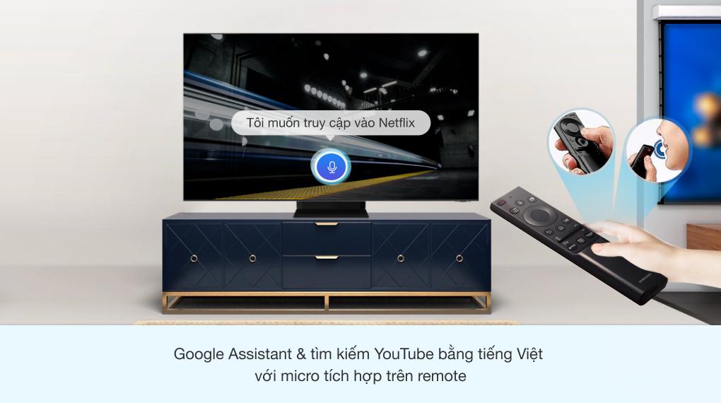 Smart Tivi Neo QLED 8K 75 inch Samsung QA75QN900A - One Remote