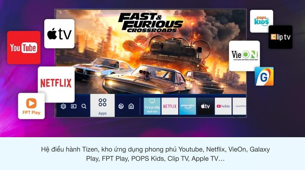 Smart Tivi Neo QLED 8K 75 inch Samsung QA75QN900A - Tizen OS