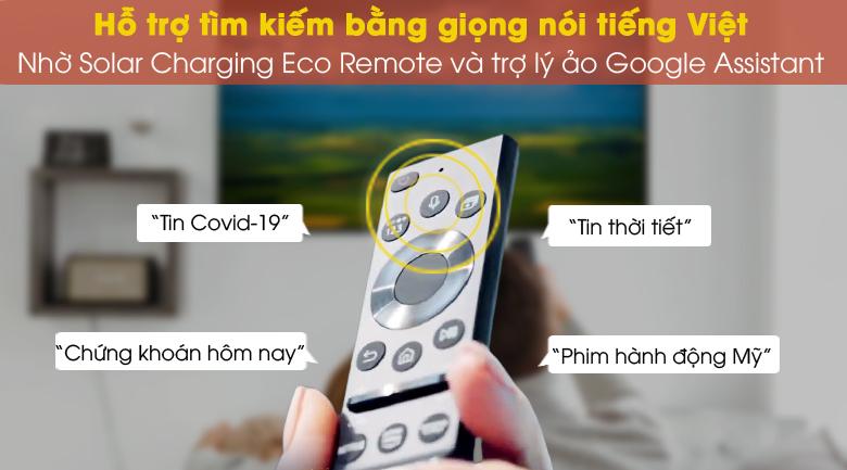 Điều khiển và tìm kiếm bằng giọng nói Tiếng Việt