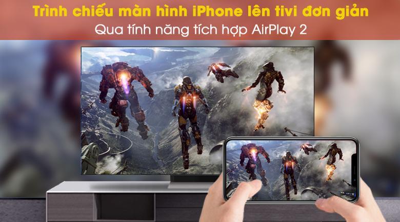 Tính năng chia sẻ màn hình Airplay2 (Iphone)