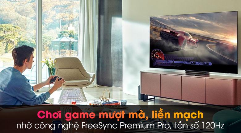 Tivi Neo QLED 8K Samsung QA65QN900A - Chơi game nhập vai, liền mạch với công nghệ FreeSync Premium Pro
