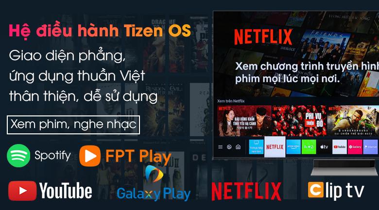 Tivi Neo QLED 8K Samsung QA65QN900A - Giao diện thân thiện, kho ứng dụng đa dạng trong hệ điều hành Tizen OS