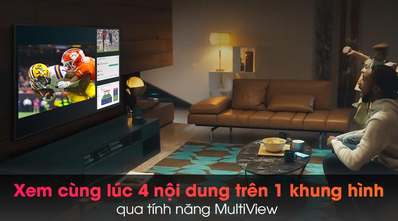 Tivi Neo QLED 8K Samsung QA65QN900A - Xem nhiều nội dung với tính năng MultiView