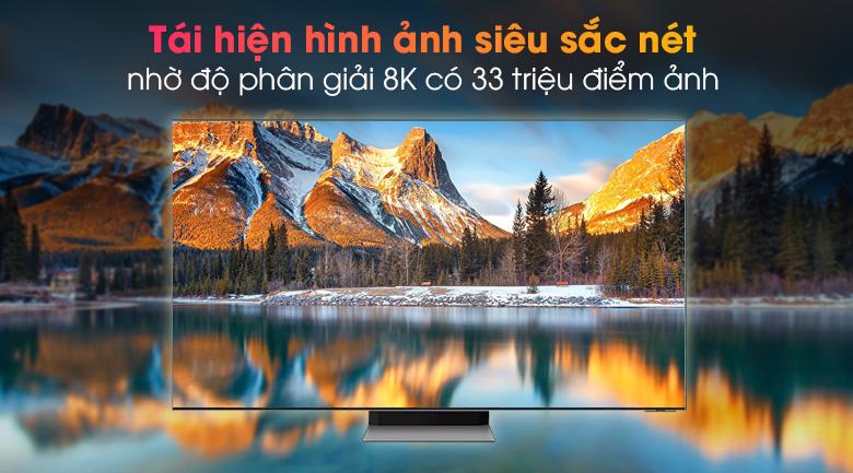 Tivi Neo QLED 8K Samsung QA65QN900A - Thưởng thức hình ảnh sắc nét với 33 triệu điểm ảnh của độ phân giải 8K