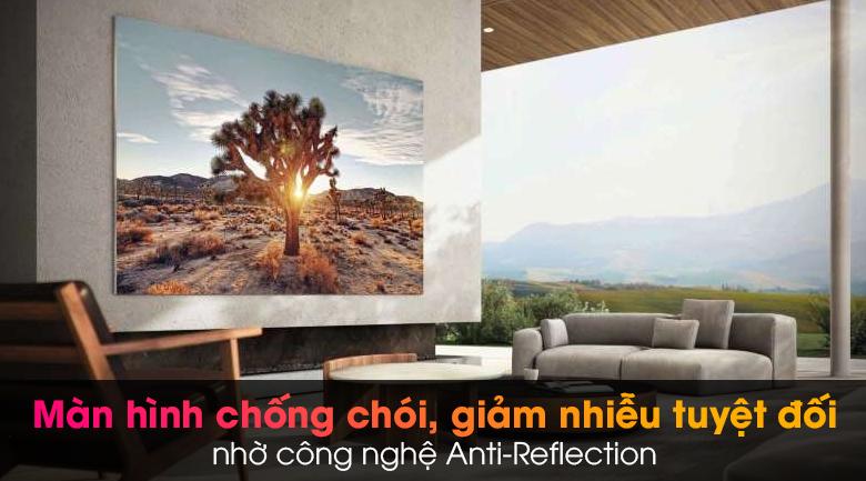 Tivi Neo QLED 8K Samsung QA65QN900A - Khả năng chống chói, giảm nhiễu nổi bật qua công nghệ Anti-Reflection