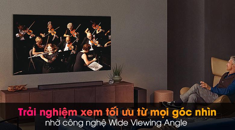 Tivi Neo QLED 8K Samsung QA65QN900A - Tầm nhìn rộng, chất lượng và màu sắc hình ảnh vẹn nguyên từ mọi góc nhìn nhờ công nghệ Wide Viewing Angle